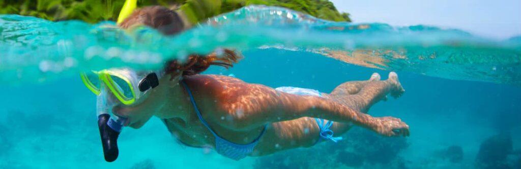 comment bien faire du snorkeling