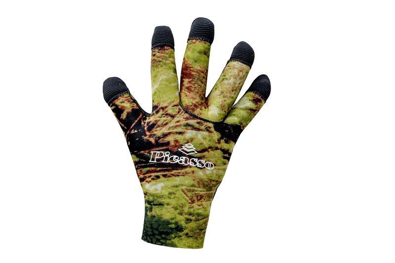 gant et matériel pour la chasse sous marine